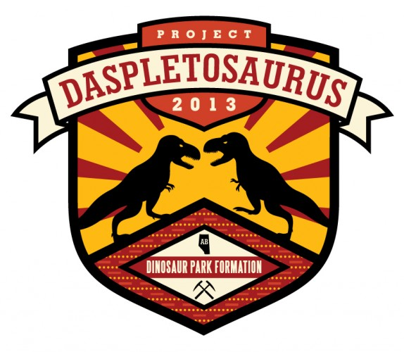 Logo for the crowdsourced Project Daspletosaurus work from 2013.